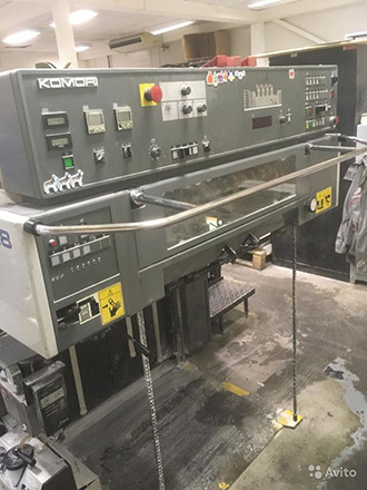 Komori Lithrone 428